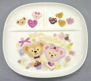 【中古】皿・茶碗(キャラクター) ダッフィー&シェリーメイ カフェプレート 「スウィート・ダッフィー2012」 東京ディズニーシー限定