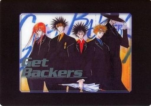 集合 クリア下敷きA 「GetBackers-奪還屋-」講談社キャラクターズ C