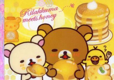 【中古】ノート・メモ帳 リラックマ&コリラックマ&キイロイトリ メモパッド 「リラックマ」ハニー&スマイルシリーズ