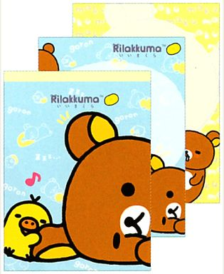 【新品】ノート・メモ帳 リラックマ&キイロイトリ クロスメモ 「リラックマ」
