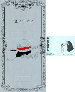 ONE PIECE(お前に預ける) ノート&付箋セット 「一番くじ ワンピース 大海賊シャンクス ~The Great Captain~」 H賞