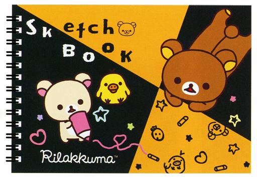 【新品】ノート・メモ帳 リラックマ&コリラックマ&キイロイトリ(らくがき) ミニスケッチブック 「リラックマ」