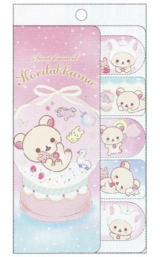 【新品】ノート・メモ帳 コリラックマのふんわりかわいい夢テーマ(ピンク) インデックス付箋メモ 「リラックマ」