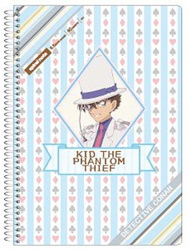 【新品】ノート・メモ帳 怪盗キッド B6スパイラルノート 「名探偵コナン」