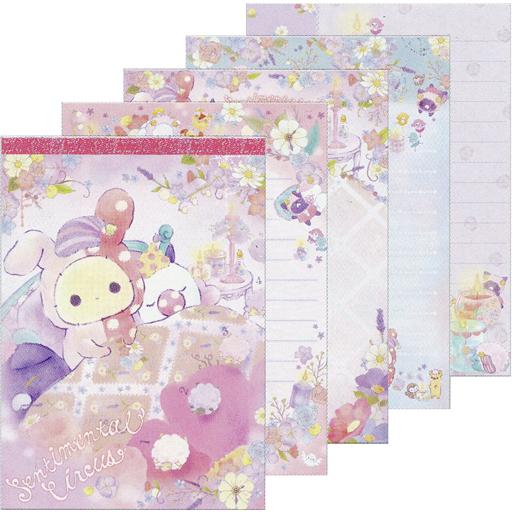 【新品】ノート・メモ帳 眠れる森の夢羊テーマ(テープ色ピンク) メモパッド 「センチメンタルサーカス」