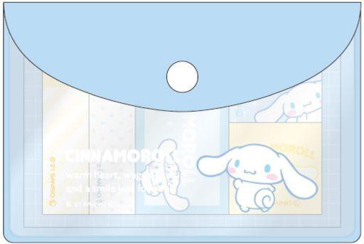 ティーズファクトリー 予約 ノート・メモ帳 シナモロール(シンプル) ポーチ入り付箋 「サンリオキャラクターズ」
