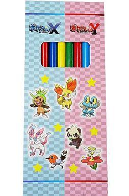 【中古】ペン ポケットモンスターX・Y 色えんぴつセット(6本セット) 「3DSソフト ポケットモンスター X・Y」 TSUTAYA予約特典