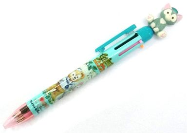 【中古】ペン ジェラトーニ&ダッフィー 6色ボールペン 「ディズニー」 東京ディズニーシー限定