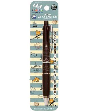 【新品】ペン リラックマファクトリー(ブラック) ジェットストリーム4&1 「リラックマ」