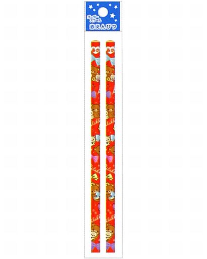 【中古】ペン リラックマ&コリラックマ&キイロイトリ(ゴーゴースクール) 赤鉛筆 「リラックマ」
