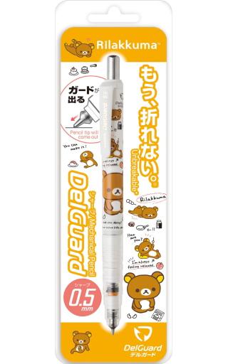 【新品】ペン リラックマ(ホワイト) デルガード(シャープペン) 「リラックマ」