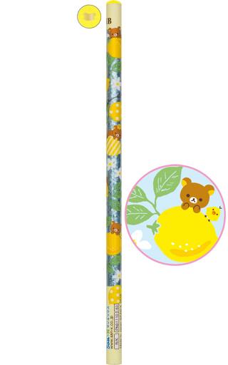 【中古】ペン リラックマ&キイロイトリ(頂点イエロー) 鉛筆 HB 「リラックマ」