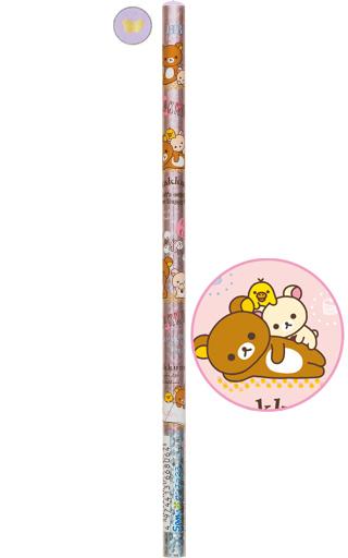 【中古】ペン リラックマ&コリラックマ&キイロイトリ(頂点パープル) 鉛筆 HB 「リラックマ」