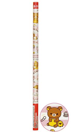 【新品】ペン 集合(食べ物) 赤鉛筆 20本セット 「リラックマ」