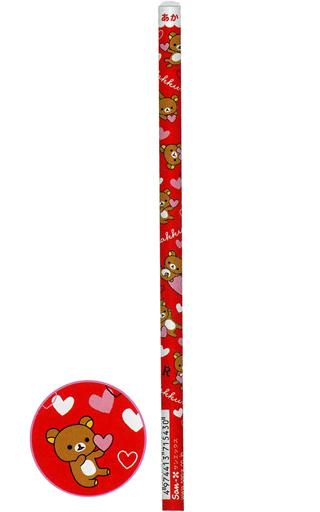 【新品】ペン 集合 赤鉛筆 20本セット 「リラックマ」