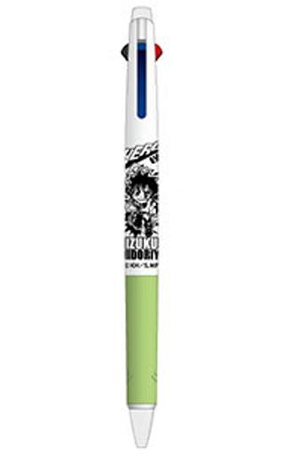ヒサゴ 新品 ペン 緑谷出久 抗菌ジェットストリーム3色ボールペン 「僕のヒーローアカデミア」