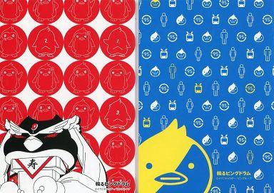 【中古】文房具 B.ペンギン柄 ミニノートセット 「輪るピングドラム」