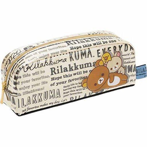 【新品】文房具その他 リラックマ&コリラックマ&キイロイトリ(英字) ペンポーチ 「リラックマ」