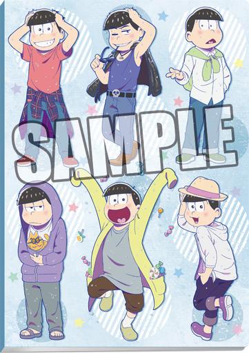 "6th child clear file storage folder rainy day Ver. ""Osomatsu-san"""