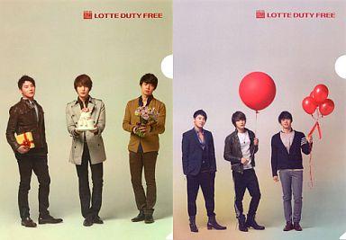 【中古】クリアファイル(男性アイドル) JYJ クリアファイルセット「LOTTE DUTY FREE」