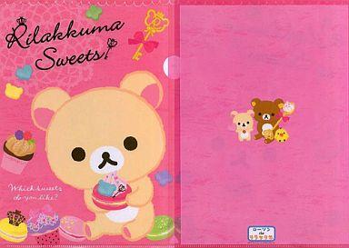 【中古】クリアファイル コリラックマ クリアファイル(Rilakkuma Sweets)「ローソンdeリラックマ」2012年キャンペーングッズ