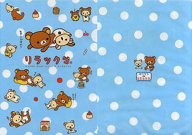 【中古】クリアファイル リラックマ&コリラックマ(たのしいですか?) クリアファイル「ローソンdeリラックマ」2006年キャンペーングッズ