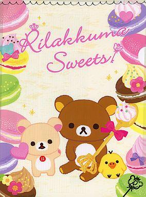 【中古】クリアファイル リラックマ クリアファイル(Rilakkuma Sweets)「ローソンdeリラックマ」2012年キャンペーングッズ