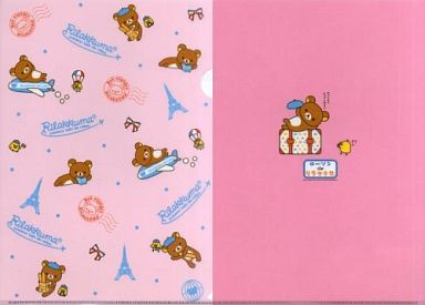 【中古】クリアファイル リラックマ クリアファイル(ピンク)「ローソンdeリラックマ」2010年春キャンペーン 第1弾グッズ