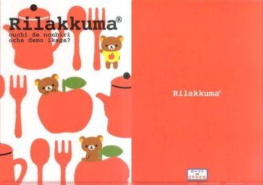【中古】クリアファイル リラックマ クリアファイル(レッド/リンゴ) 「ローソンdeリラックマ」2011年キャンペーングッズ