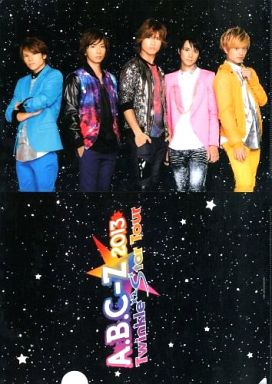 A.B.C-Z A4クリアファイル 「A.B...