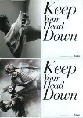 【中古】クリアファイル(男性アイドル) 東方神起 A4クリアファイル2枚セット(Keep Your Head Down) チャンミンver.