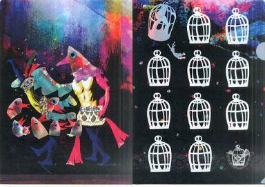【中古】クリアファイル [単品] 鳥かごの魔女 A4クリアファイル 「一番くじ 劇場版 魔法少女まどか☆マギカ」 H賞 クリアファイル3枚セット