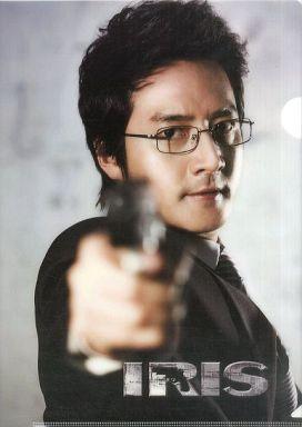 【中古】クリアファイル(男性アイドル) チョン・ジュノ A4クリアファイル 「IRIS -アイリス-」 韓国限定