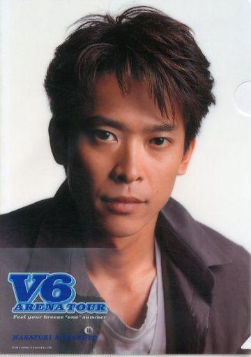 坂本昌行 A4クリアファイル 「V6...
