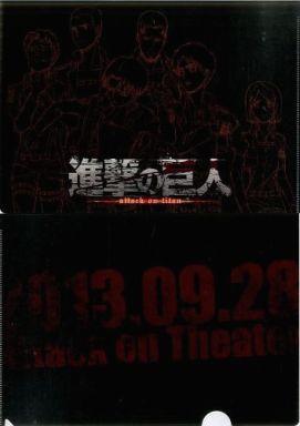 リヴァイ班 A4クリアファイル 「進撃の巨人 最終回先行上映イベント attack on theater」 来場特典