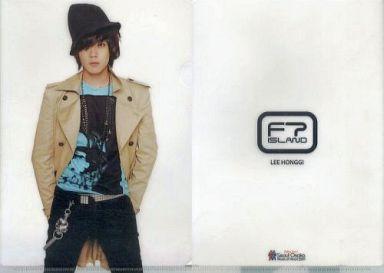 【中古】クリアファイル(男性アイドル) [単品]イ・ホンギ(FTISLAND) A4クリアファイル 「Seoul-Osaka Music of Heart 2011」