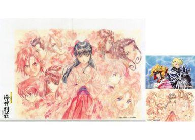 松原秀典氏亀井幹太氏イラスト A4クリアファイルポストカードセット