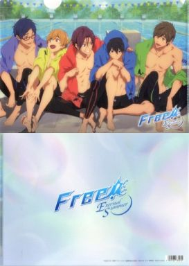 【中古】クリアファイル 集合(5人) A4クリアファイル 「Free!-Eternal Summer-」