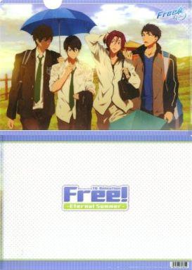 【中古】クリアファイル A.雨宿り(4人) クリアファイル 「Free!-Eternal Summer-」