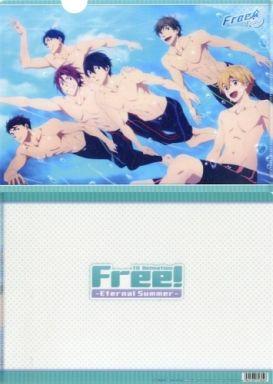 【中古】クリアファイル B.水の中(6人) クリアファイル 「Free!-Eternal Summer-」