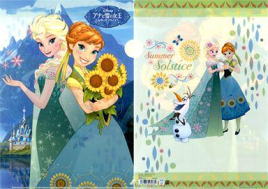 イラスト クリアファイル アナと雪の女王 エルサのサプライズ 予約