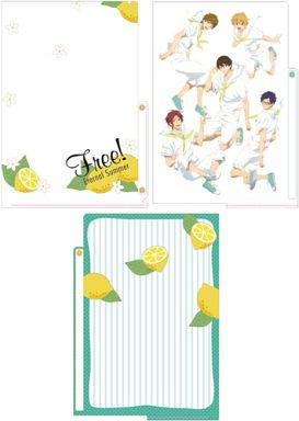 【中古】クリアファイル 集合(レモン) 3ポケットクリアファイル 「Free!-Eternal Summer-」