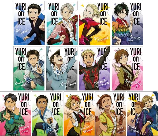 【ボックス】 ユーリ!!! on ICE ミニクリアファイルコレクション