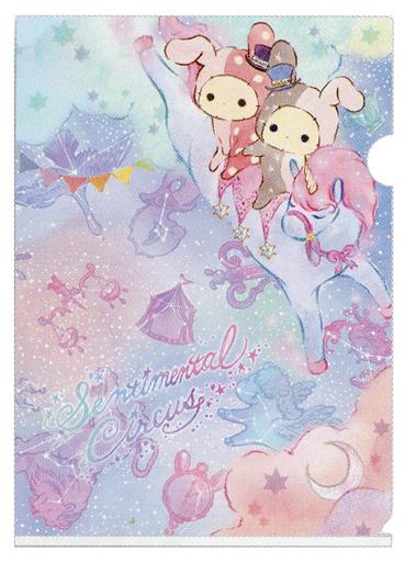 【新品】クリアファイル シャッポ&スピカ(馬乗り) A4クリアホルダー 「センチメンタルサーカス」