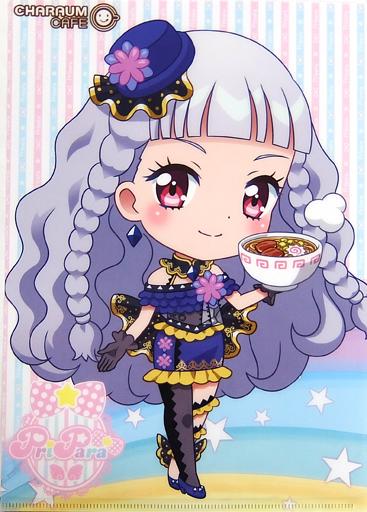 幸多みちる アイドルタイムプリパラcharaum Cafe A4クリアファイル