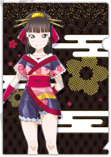 【中古】クリアファイル 黒澤ダイヤ(和柄) 「ラブライブ!サンシャイン!! ぷちクリアファイルコレクション vol.3」