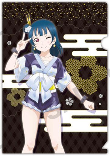 【中古】クリアファイル 津島善子(和柄) 「ラブライブ!サンシャイン!! ぷちクリアファイルコレクション vol.3」