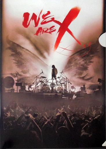 【中古】クリアファイル(男性アイドル) X JAPAN A4メタリッククリアファイル(セピア) 「DVD WE ARE X DVD スペシャル・エディション」 楽天ブックス購入特典