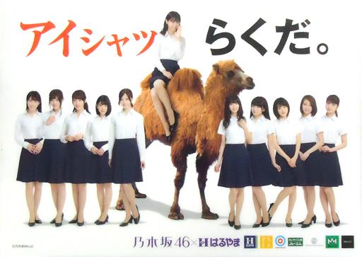 【中古】クリアファイル(女性アイドル) 乃木坂46(アイシャツらくだ) A4クリアファイル はるやまノベルティグッズ