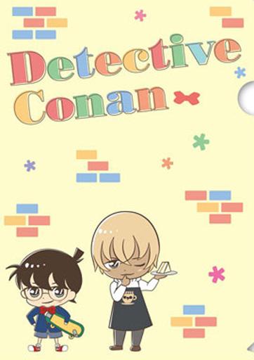 【中古】クリアファイル コナン&安室/集合 キュートスタイル A4クリアファイル 「名探偵コナン」